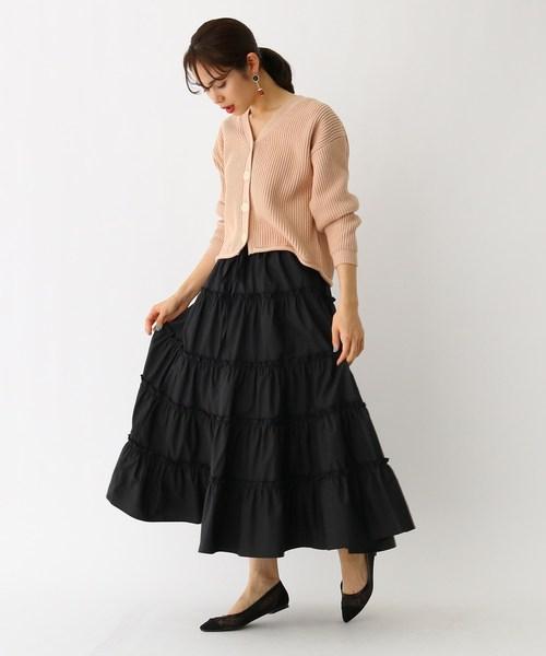 [aquagirl] Bilitis dix-sept ans コットンティアードスカート