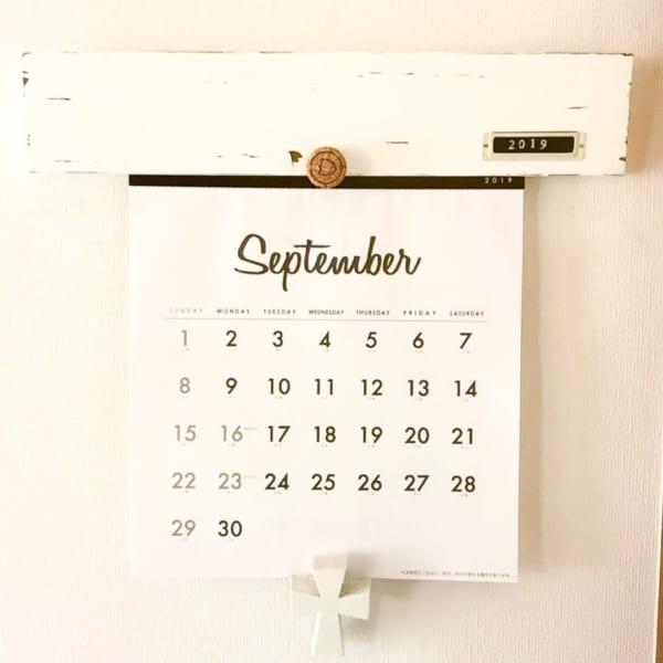 カレンダーの飾り方3