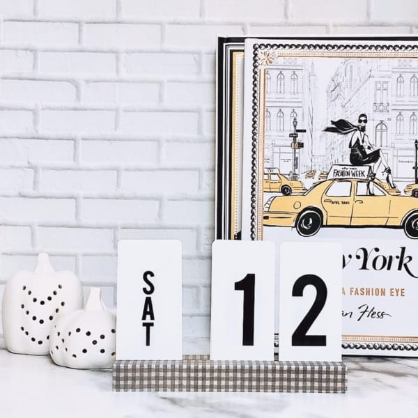 カレンダーの飾り方11