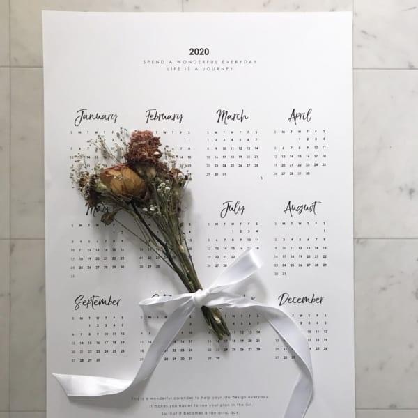 カレンダーの飾り方14