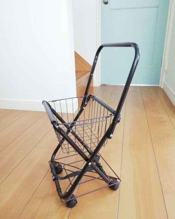 難易度☆☆:おままごと用ショッピングカート