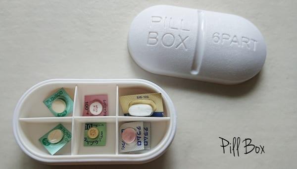 無印良品&100均アイテムの薬収納9