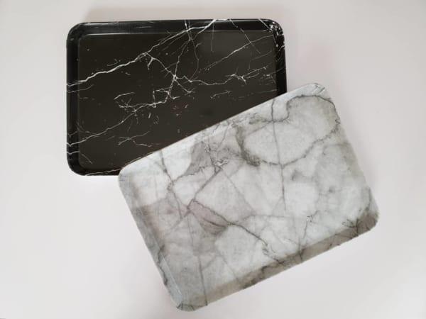 100均の大理石調アイテム《セリア》