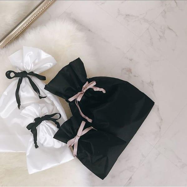 ミニサテン調巾着袋2