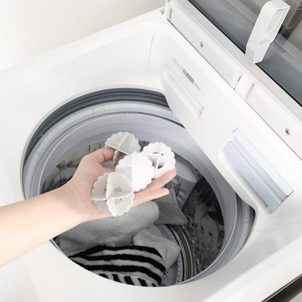 絡まり防止に洗濯ボール