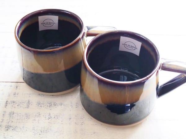 アンティークマグカップ