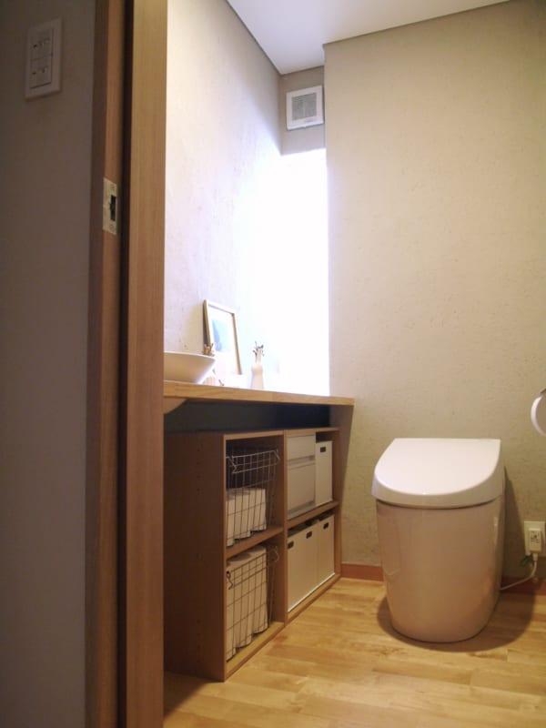 ニトリ・無印良品の収納グッズを活用した、トイレ収納!123