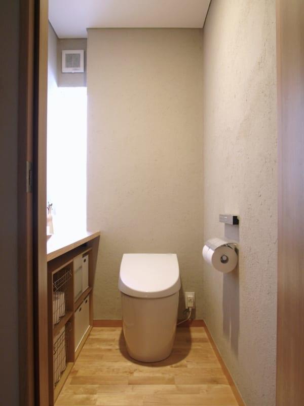 ニトリ・無印良品の収納グッズを活用した、トイレ収納!
