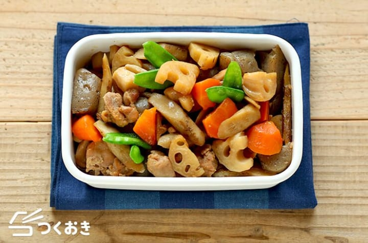 簡単に作れる副菜料理!ごぼう入りの筑前煮