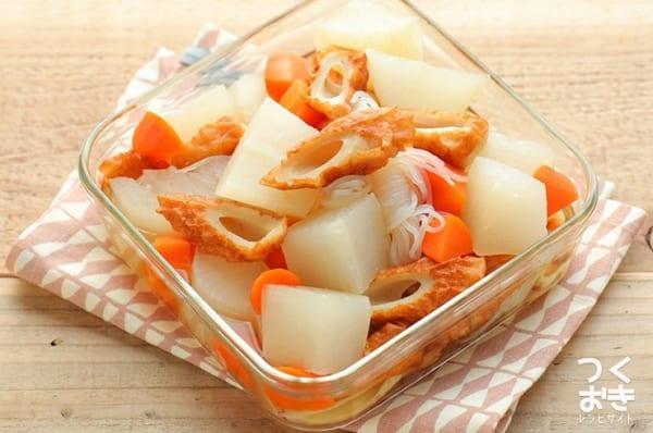 簡単な副菜のレシピに!大根としらたきの煮物