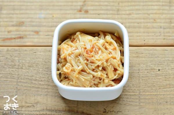 『きのこ』の人気副菜レシピ《和える》3