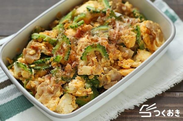 豆腐を使った人気の副菜《炒め料理》3