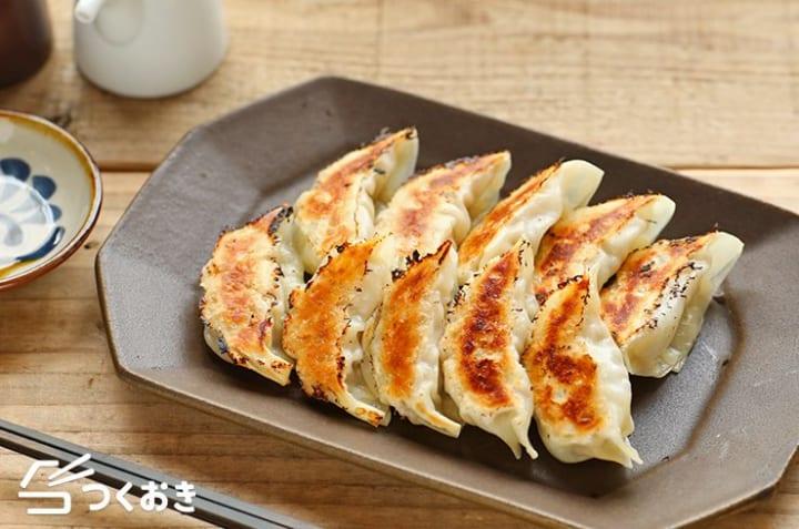 豚ひき肉たっぷり料理!白菜餃子