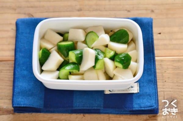 きゅうりの人気副菜レシピ《漬けるだけ》2