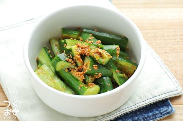 きゅうりの人気副菜レシピ《和えるだけ》3