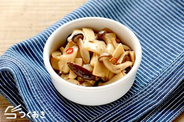 『きのこ』の人気副菜レシピ《炒める》