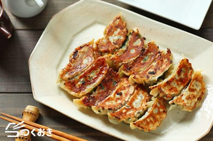 人気のおかず!豚ひき肉と小松菜餃子
