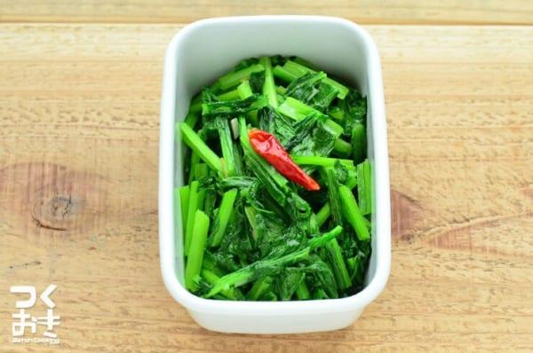 小松菜の簡単な副菜の人気料理《洋風・中華》8