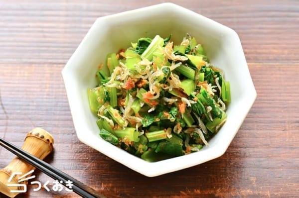 小松菜の簡単な副菜の人気料理《和風》11