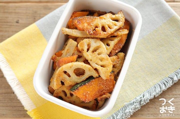 人気の食べ方!ごぼうとかぼちゃのホットサラダ