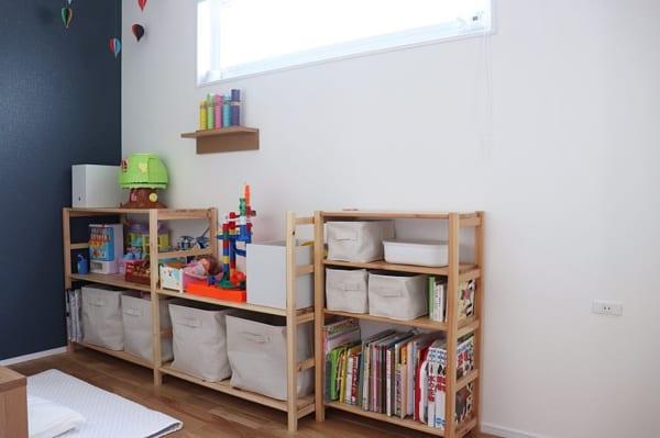 男の子向け子供部屋インテリア&収納2