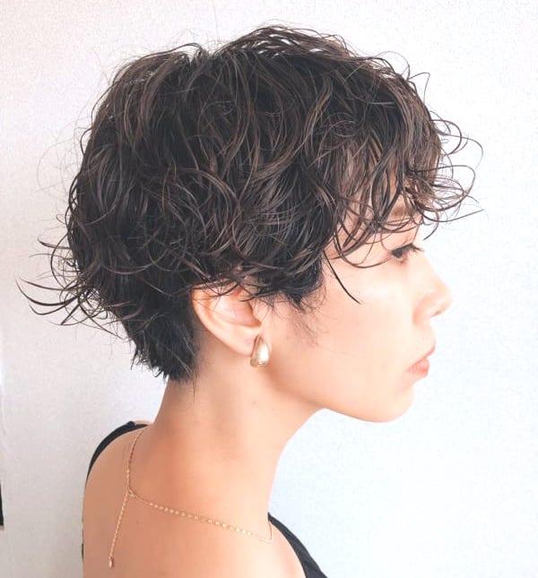 代 ショート 50 髪型