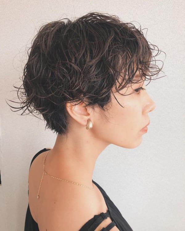 人気上昇のパーマヘアスタイル