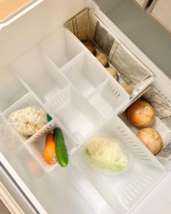 100均 冷蔵庫収納4