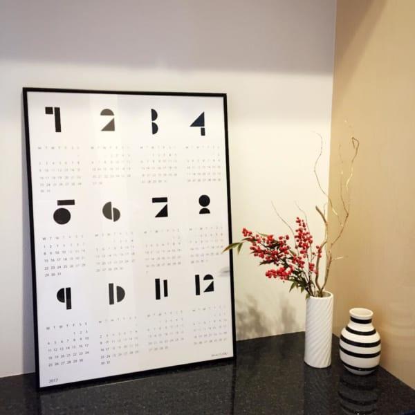 カレンダーの飾り方15