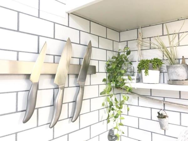 キッチンシンク周りの収納アイデア14