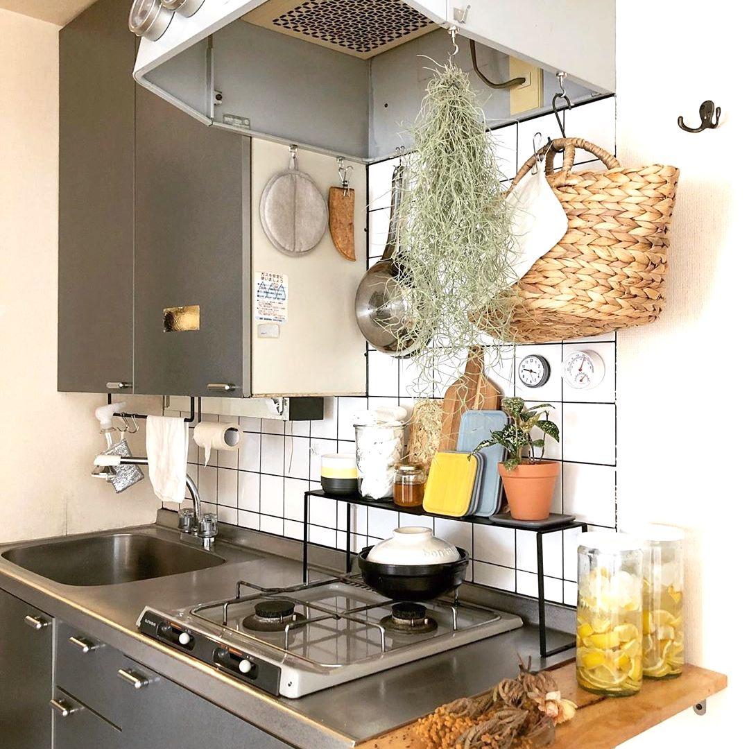 レイアウト 狭い キッチン