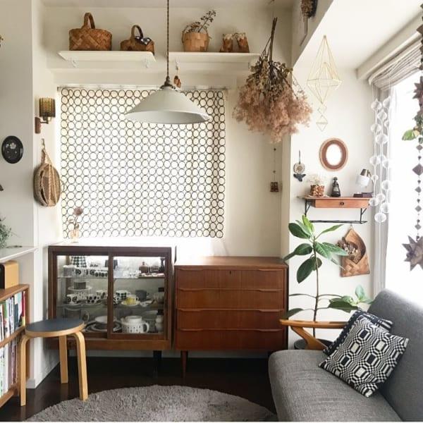 北欧ヴィンテージ家具が温もり感を演出
