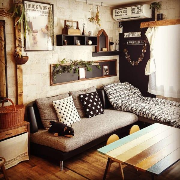 狭い部屋にソファを置くコツ《一人暮らし》4