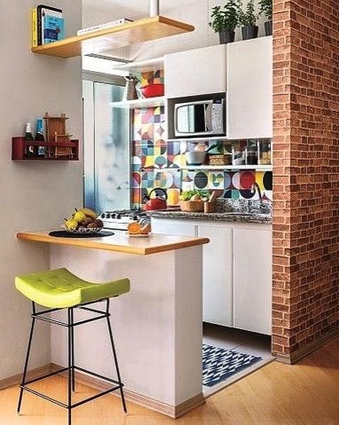 コンパクトなキッチンの例3