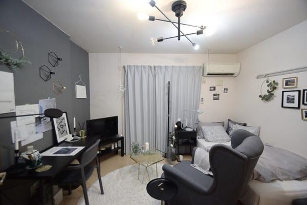 狭い部屋にソファを置くコツ《一人暮らし》10