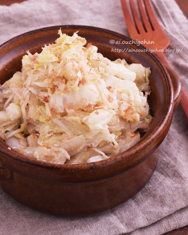 白菜としらすの和風マヨサラダ