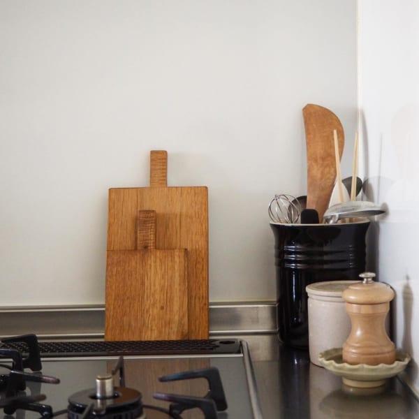 見せる収納がおしゃれなキッチン
