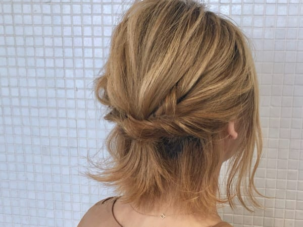 崩れにくく簡単可愛いヘアスタイル