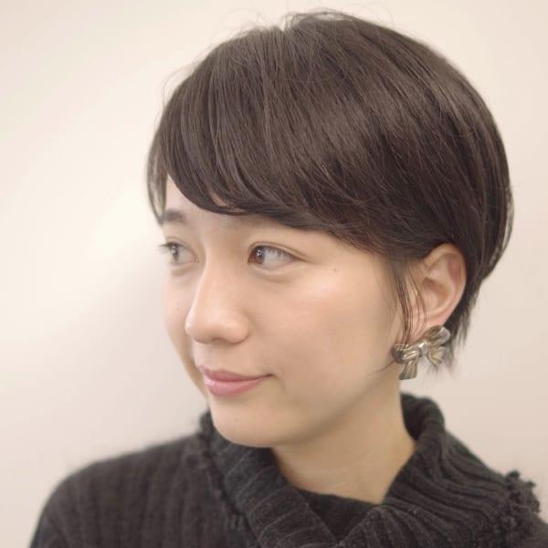 ショート 40 代 髪型