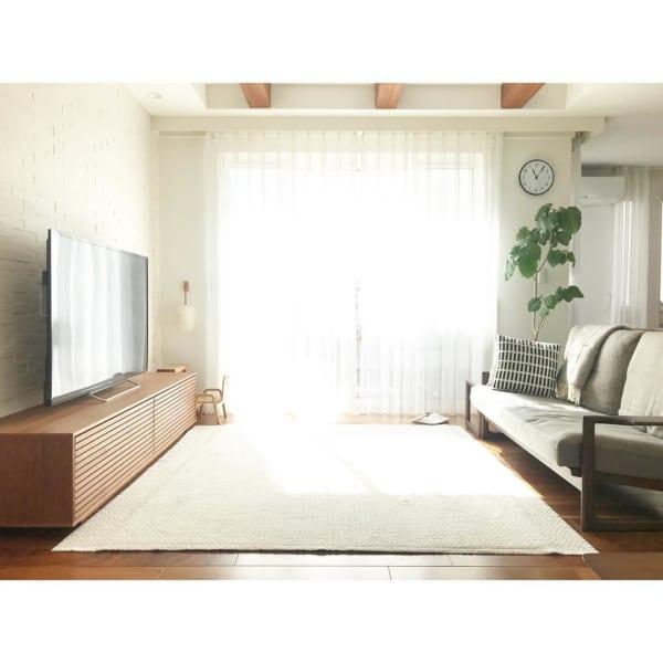 狭い部屋にソファを置くコツ《リビング》8