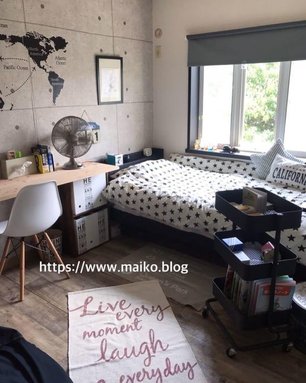 男の子向け子供部屋インテリア&収納24