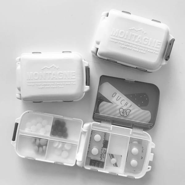 無印良品&100均アイテムの薬収納7