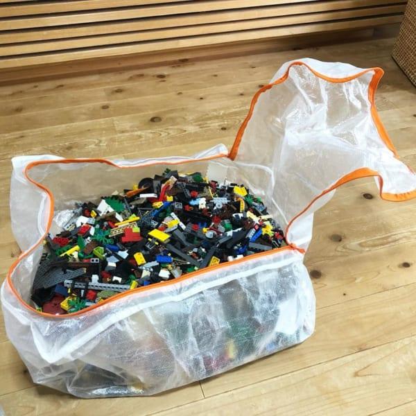 ぺルクラでレゴ収納