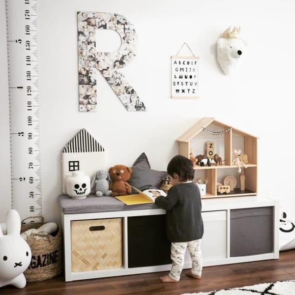 男の子向け子供部屋インテリア&収納5