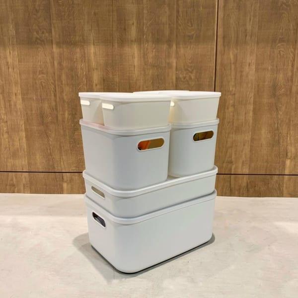 シンプルなPP収納ボックス