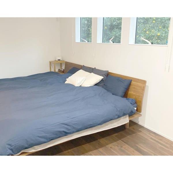 シンプリストの寝室インテリア5