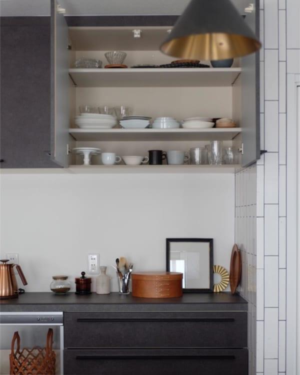 お気に入りを集めたキッチン収納