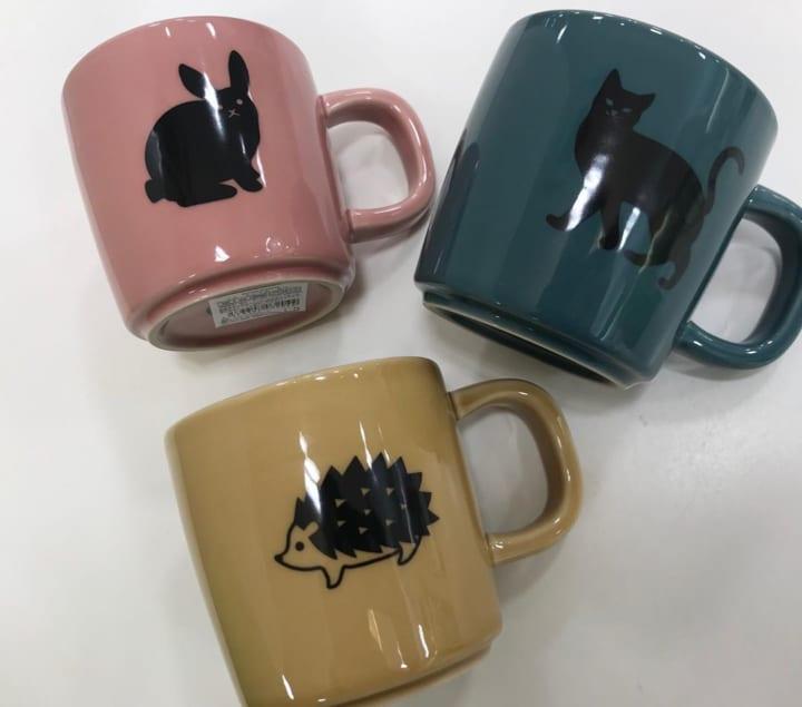 ハリネズミのマグカップ(セリア)