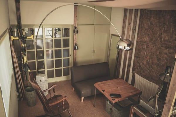 狭いリビングのソファのレイアウト13