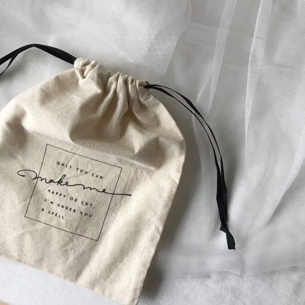 コットン巾着袋
